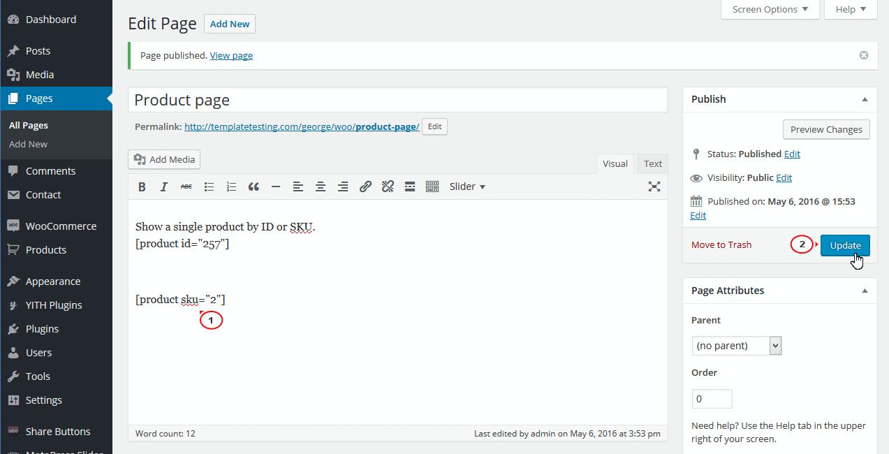 چگونه در ووکامرس محصولات تکی و چند تایی را توسط ID و SKU نمایش دهیم؟