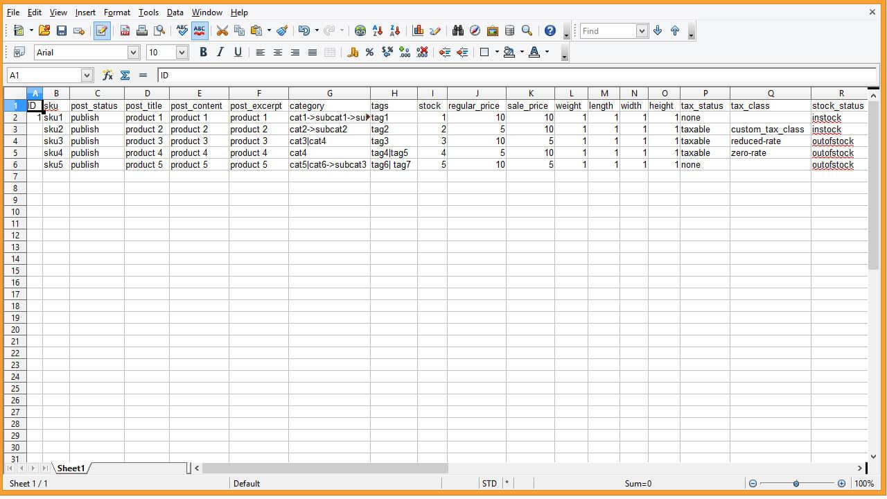 چگونه اطلاعات را از فایل های CVS به فهرست ووکامرس خود ایمپورت کنیم؟