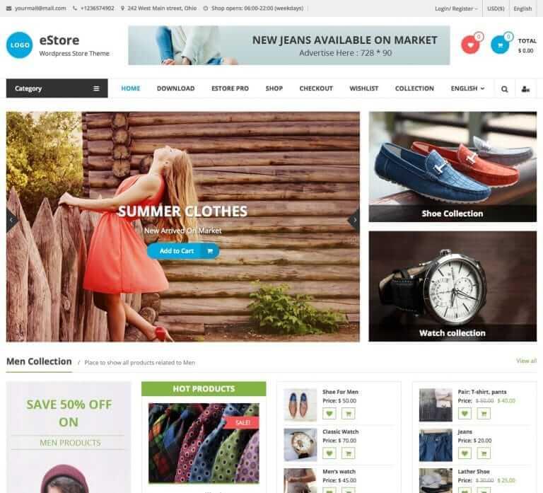 معرفی 5 قالب وردپرس فروشگاهی سازگار و انعطاف پذیر با وردپرس