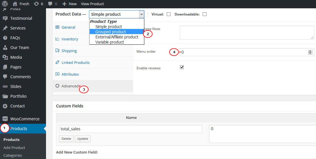 چگونه ترتیب پیشفرض محصولات ووکامرس را در صفحه دسته بندی تغییر دهیم؟