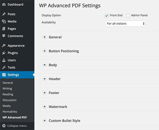 نحوه اضافه کردن دانلود پست ها با فرمت pdf برای وردپرس
