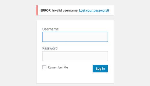 نحوه غیر فعال کردن ورود با شناسه ایمیل در وردپرس