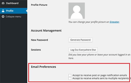 نحوه ارسال ایمیل به همه کاربران ثبت شده در وردپرس