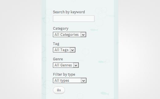 نحوه اضافه کردن جعبه جستجو پیشرفته در وردپرس