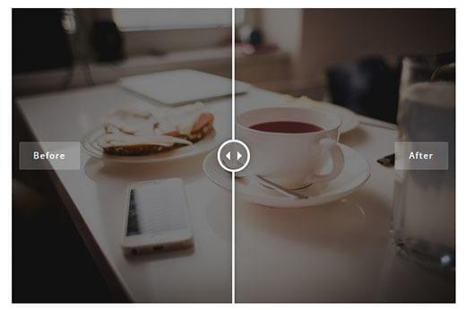 نحوه نمایش تفاوت تصاویر در وردپرس