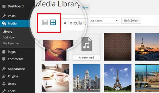 نحوه تغییر نام تصاویر و فایل های رسانه ای در وردپرس
