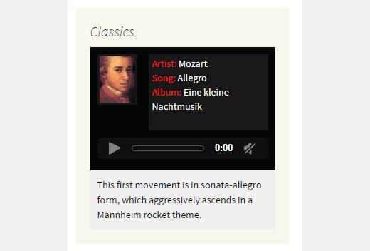 نحوه ساخت پخش کننده موسیقی در وردپرس