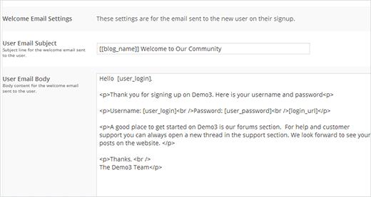 نحوه ارسال ایمیل خوشامدگویی برای کاربران ثبت نام کرده