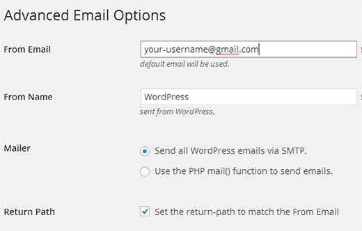 نحوه دریافت ایمیل های وردپرس از لوکال هاست